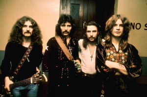 Black Sabbath, 1970s: Geezer Butler, Tony Iommi, Bill Ward and Ozzy Osbourne