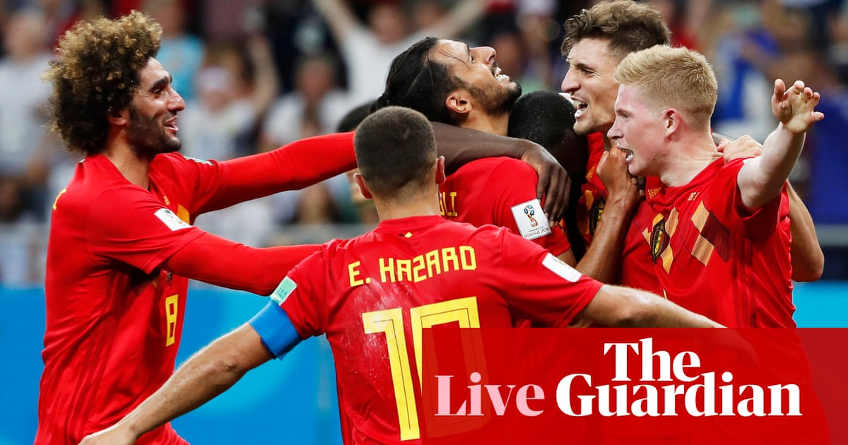 54ef9f9aed4 Belgium 3-2 Japan: World Cup 2018 – as it happened | Football | The Guardian