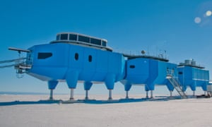 The British Antarctic Survey's Halley VI research station has recorded records data relevant to space weather, climate change, and atmospheric phenomena since 2012.