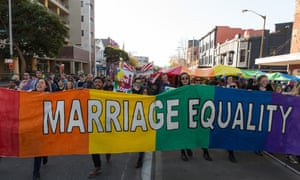Thousands march in Sydney for marriage equality