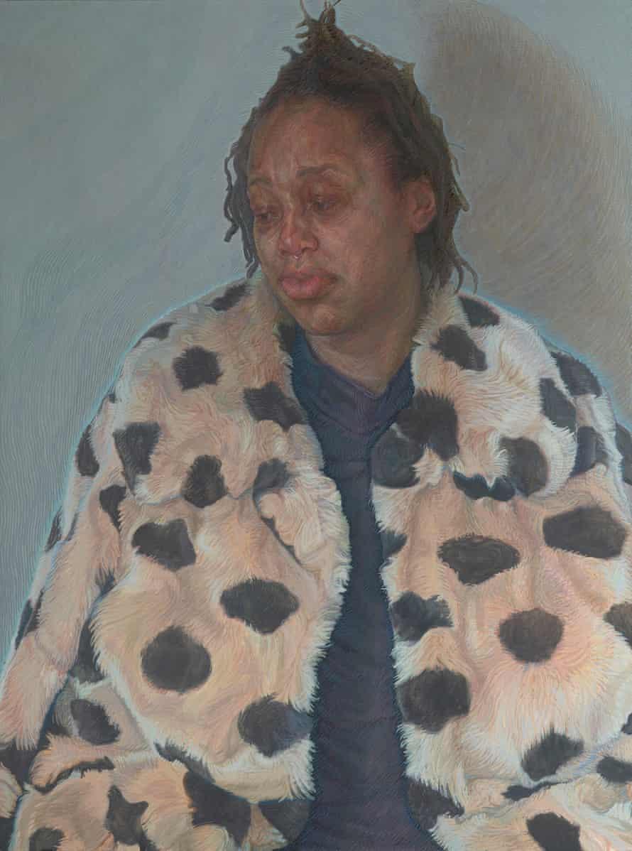 Imara in her Winter Coat by Charlie Schaffer.