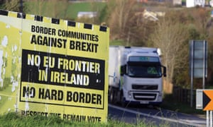 A billboard close to the Letterkenny-Strabane border in the Irish Republic.