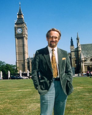 Gordievsky in London in 1991. He remains here, 'somewhere in the suburbs'.