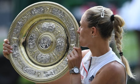 Angelique Kerber ready to be on top of the world again after Wimbledon win | Simon Cambers