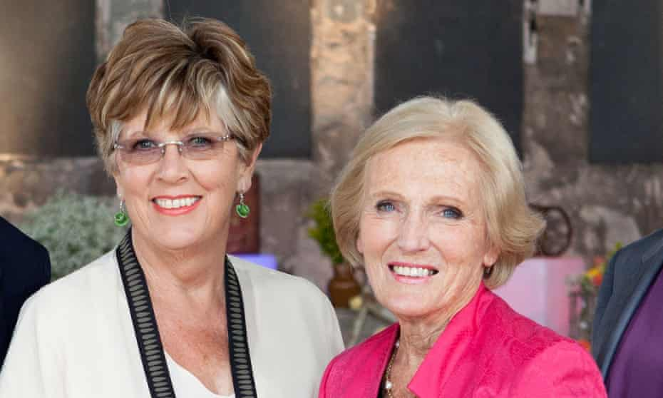 Prue Leith (left) and Mary Berry on Great British Menu.
