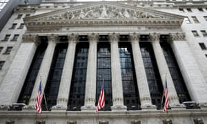 The front facade of the New York Stock Exchange