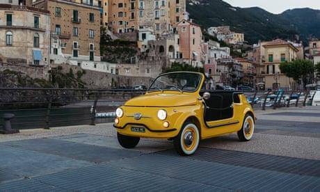 Fiat 500 Jolly Spiaggina e-Icon: 'You too can sample la dolce vita'