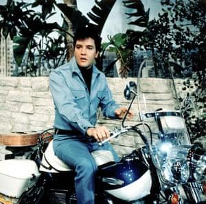 Elvis Presley in the film Clambake in 1967.