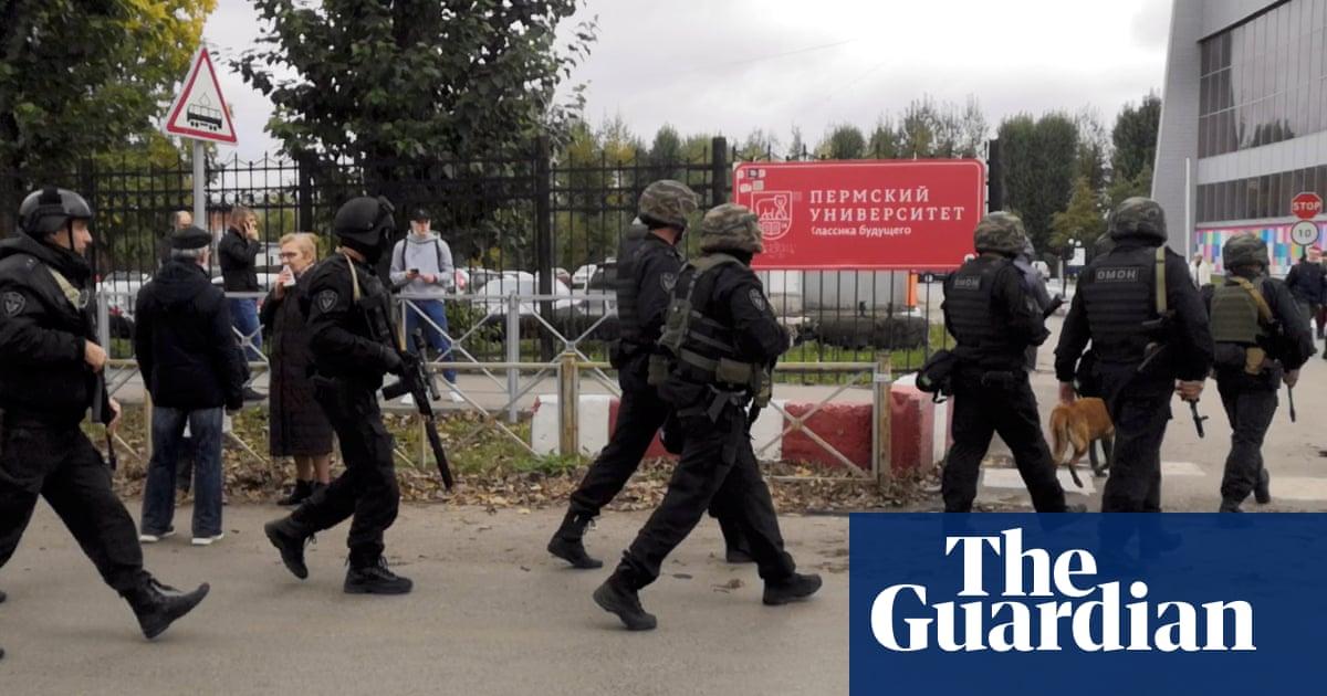 Russia shooting: gunman kills eight people at Perm State University