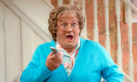 A still from Mrs Brown's Boys Christmas and New Year Special