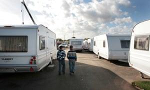 A Traveller site in Essex