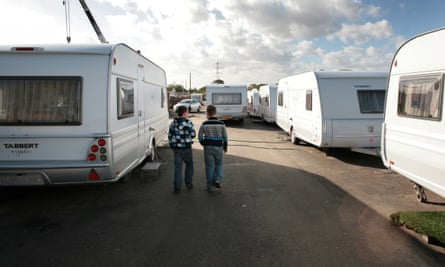 Traveller children near Basildon