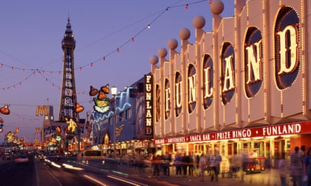 Rates levels for towns such as Blackpool will fall