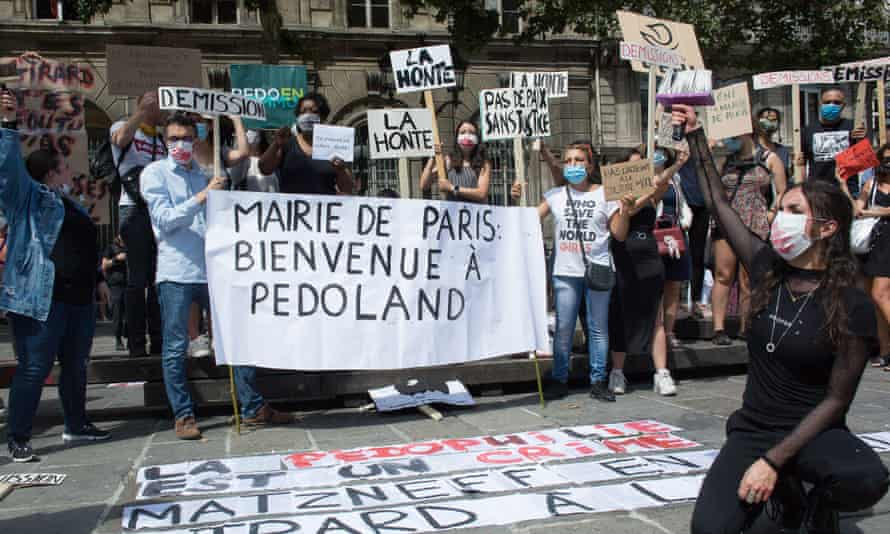 In July 2020, Parisians protested against the nomination of Christophe Girard as deputy mayor due to his links to Gabriel Matzneff. Girard later resigned.