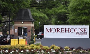Morehouse College, the country's only all-male historically black college, will begin admitting transgender men beginning in 2020.
