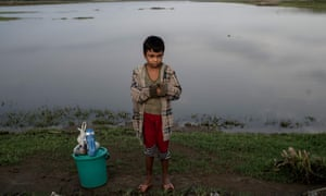 Rohingya camp for internally displaced people