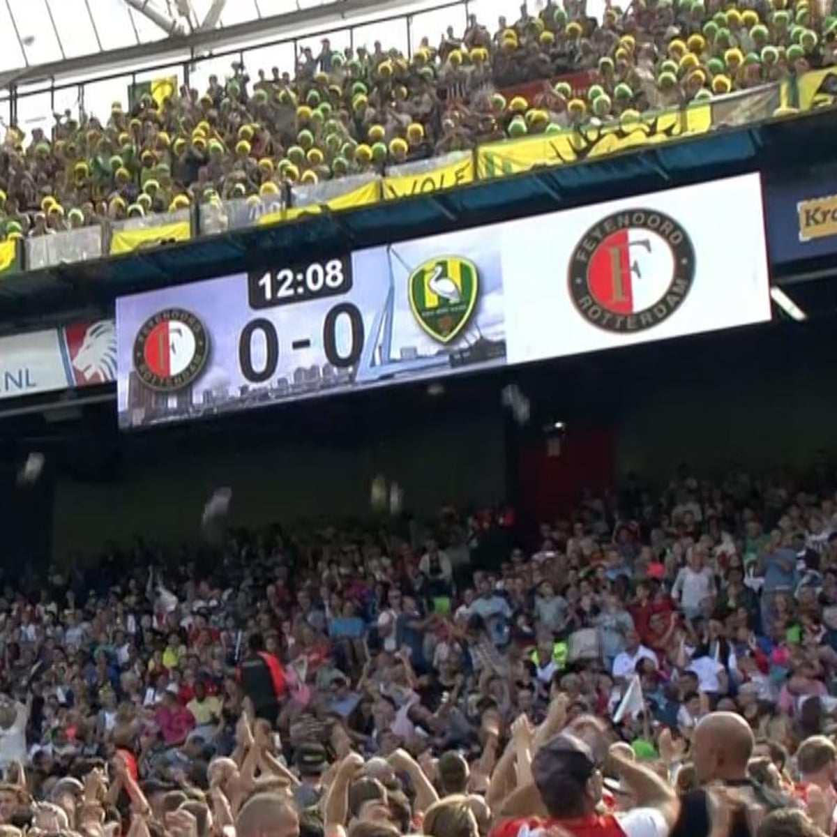 Den Haag Supporters Throw Cuddly Toys At Feyenoord Fans During Match Football The Guardian
