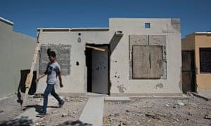 Abandoned homes in Juarez