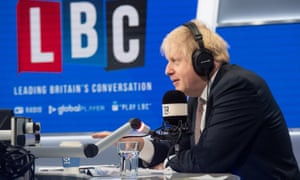 Boris Johnson interviewed by Nick Ferrari
