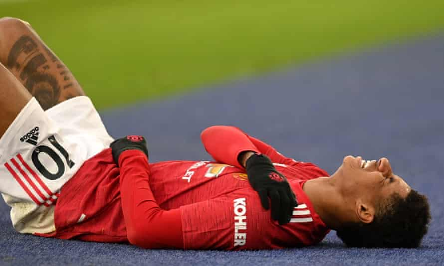 Marcus Rashford injured his shoulder late last year and indicated during Euro 2020 that he was not 100% fit.
