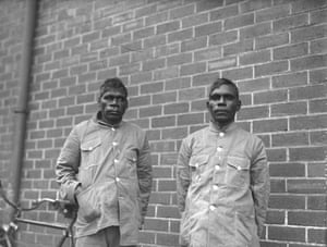 Aldoa and Herbert, who witnessed the Forrest River massacre