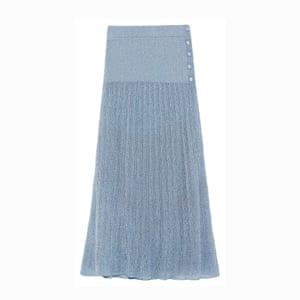 Blue lurex, £29.99, zara.com.