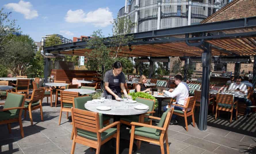 Bring the washing-up liquid: Parillan restaurant, Coal Drops Yard, Kings Cross, London: