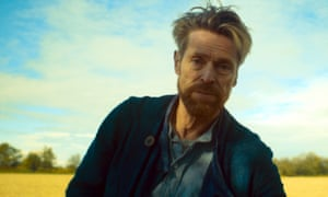 Willem Dafoe (Vincent Van Gogh) in Julian Schnabel's AT ETERNITY'S GATE