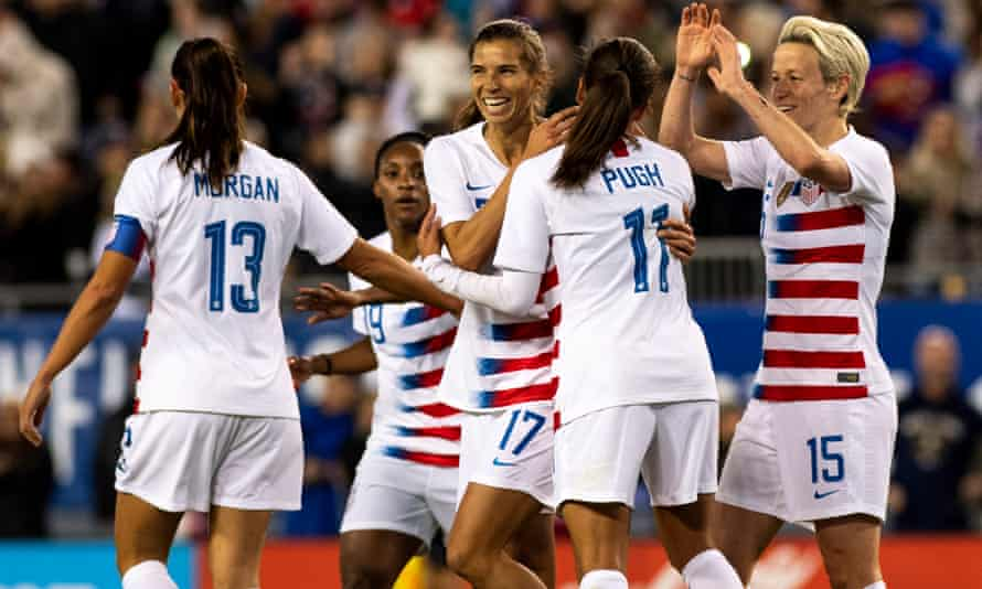 The US soccer team argue that they are not promoted to the same extent as their male counterparts