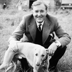 Hardy as Siegfried Farnon in All Creatures Great and Small.
