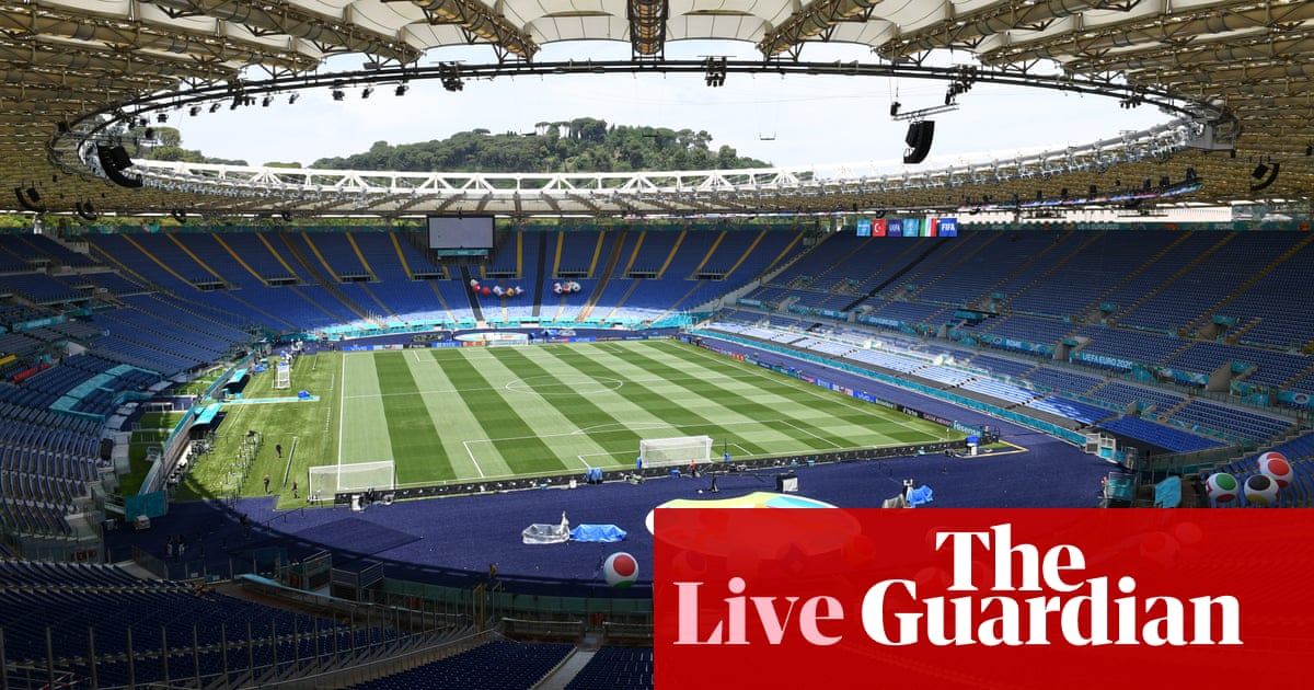 Euro 2020 countdown: all the latest as the finals kick off – live!