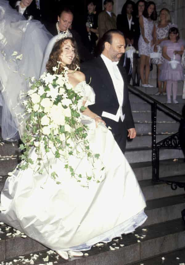 Carey's wedding to Tommy Mottola in 1993.