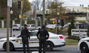 Police were called to the Walter Reed medical center on Tuesday.