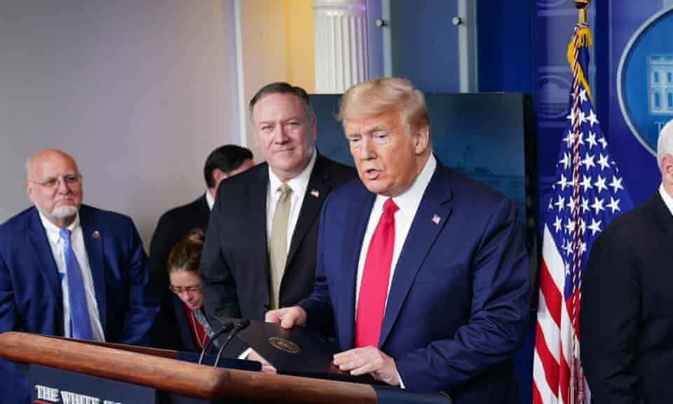 Mike Pompeo and Donald Trump have touted the theory that Covid-19 came from a Chinese laboratory.
