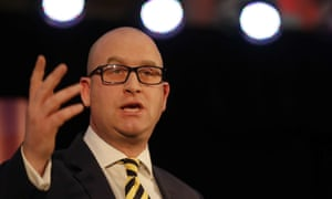 Paul Nuttall speaking after being elected as the new Ukip leader.