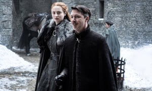 Sansa continued to treat Littlefinger with a healthy disrespect.