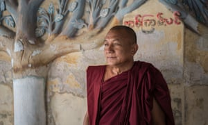 Kar Wi Ya is one of the few Buddhist monks who publicly stands against Ma Ba Tha.