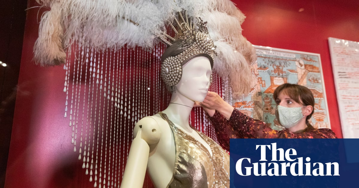An electric Faust outfit and a pair of kinky boots in V&A's 'major refresh'
