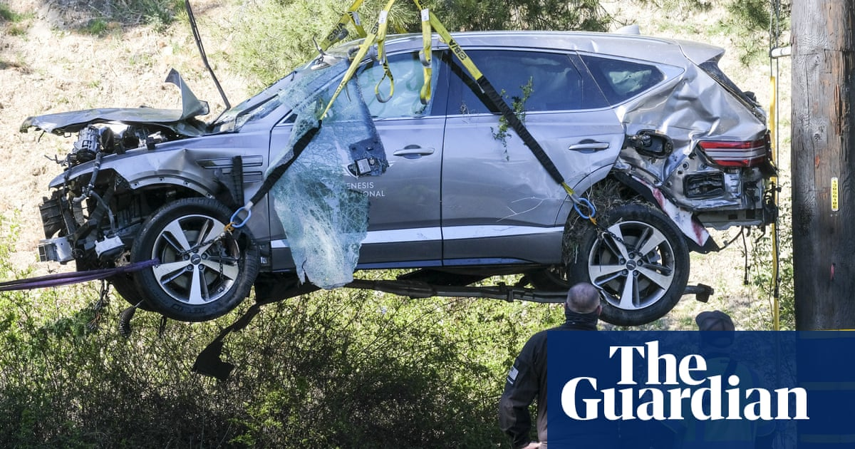Police have determined cause of Tiger Woods crash but won't release details