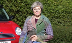 Theresa May is known for her love of fashion