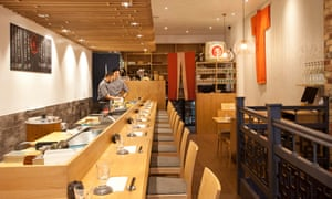 'Makes me feel like a better person': Sushi Atelier.