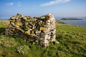 St Flannan's Chapel on Eilean Mor in the Flannan Isles