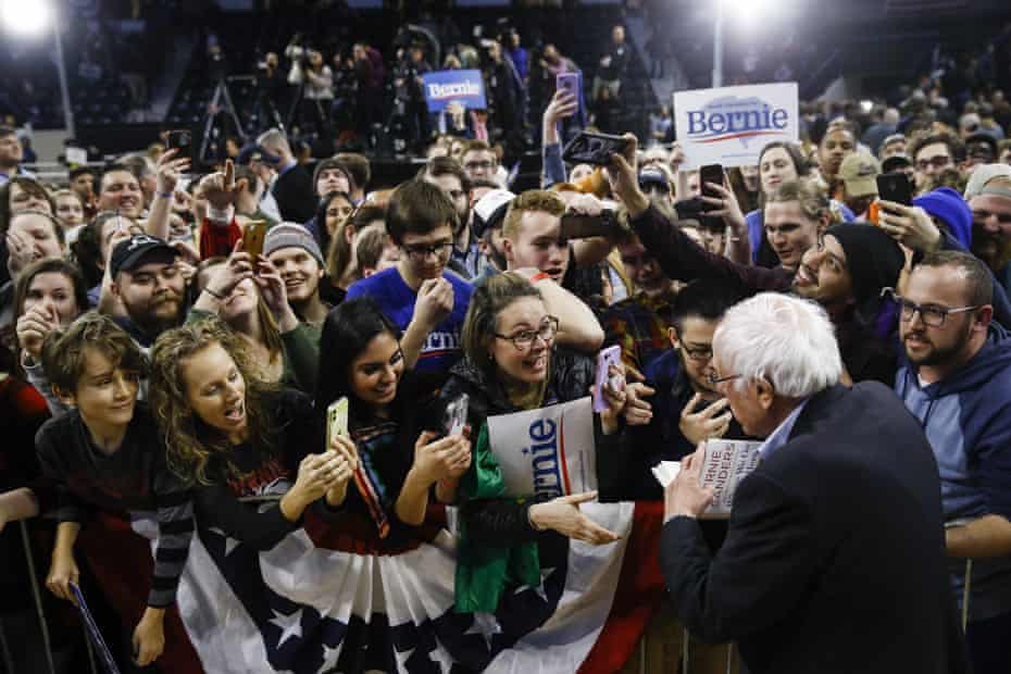 Sanders has followed Obama's example and laid the foundations of a national network of young, energised supporters.