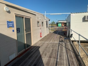 Pop up Coronavirus clinic in Emerald, central Queensland