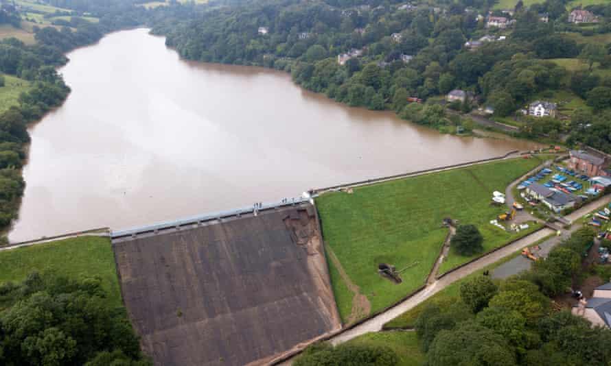 Whaley Bridge dam