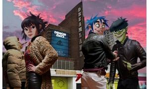 Gorillaz present their Demon Dayz event at Margate's Dreamland