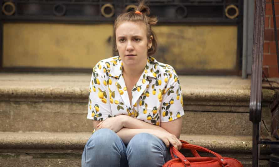 The end is nigh: Lena Dunham in the final series of Girls.