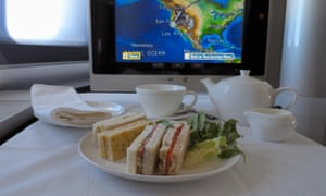 Afternoon tea in first class