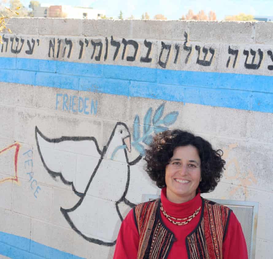 Sara Koplik outside.