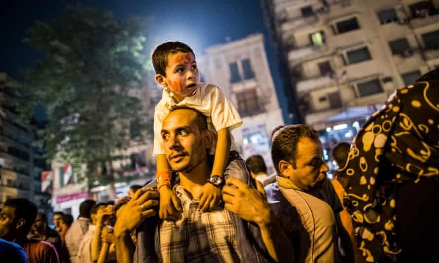 Protestors in Cairo, June 2012.